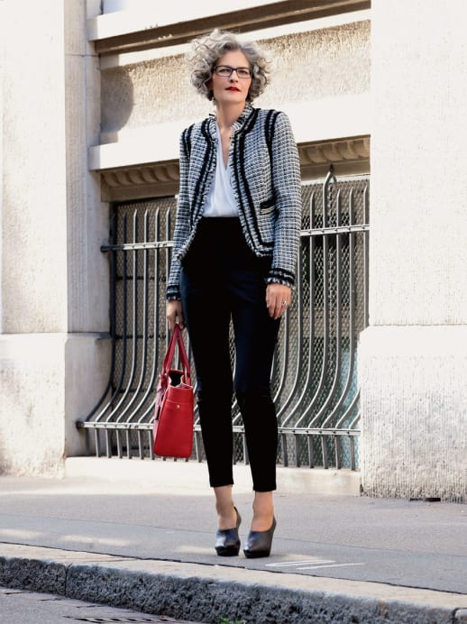 Ein neuer Look für Iris Daetwyler: Einer für alles