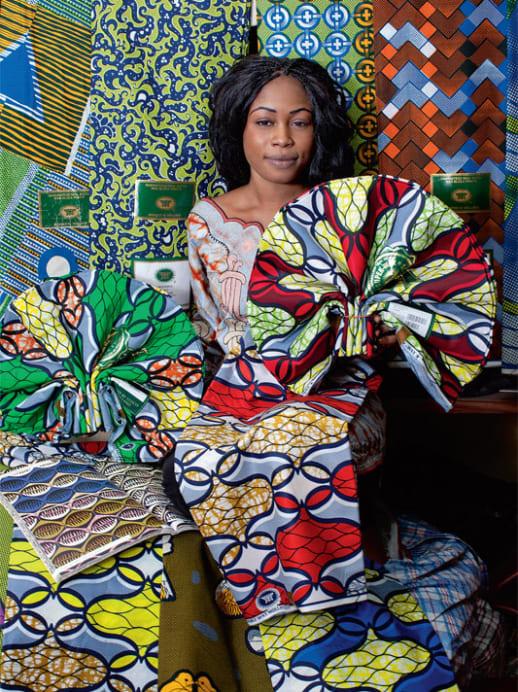 Stoffhandel in Westafrika – Erfolg hat viele Muster