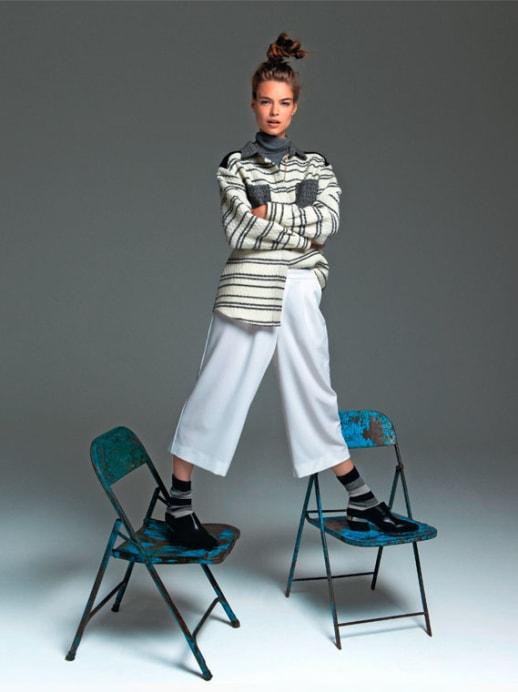 Hose oder Jupe: Das Comeback der Culottes