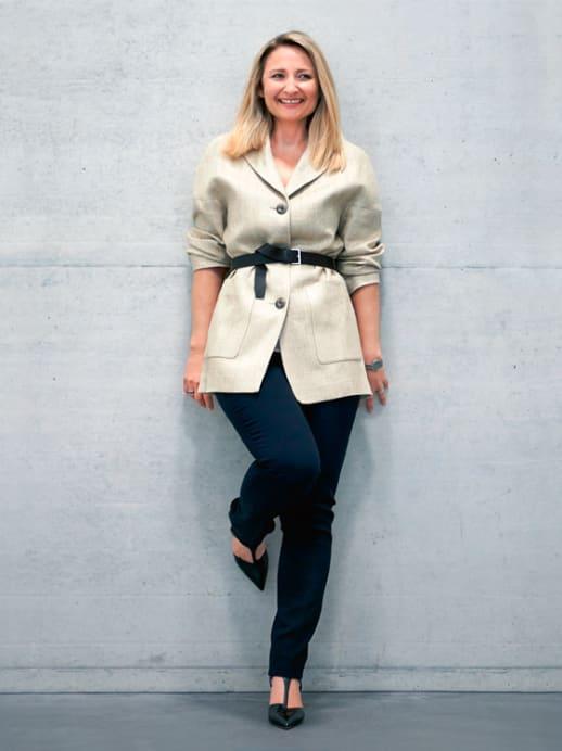 Ein neuer Look für Diana Brasey: Korrekt ist kreativ