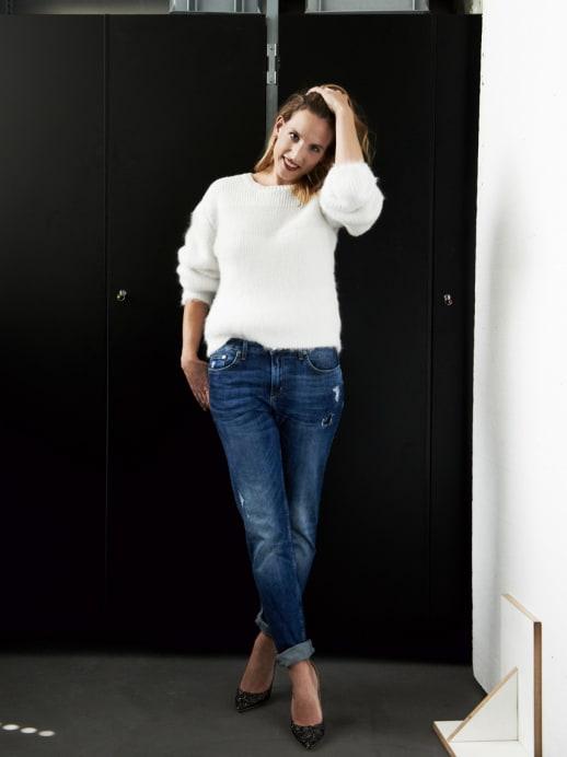 Ein neuer Look für Sophie Lutz: Wohlfühl-Glamour