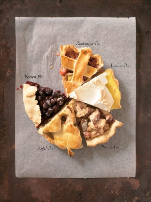 Birnen-Beeren-Pie