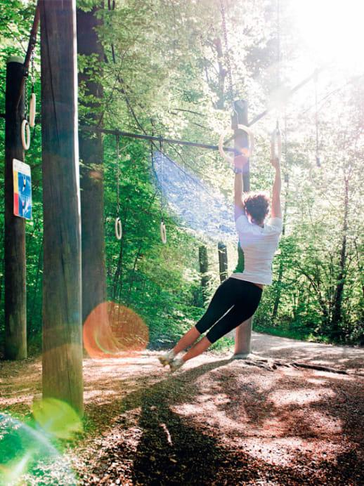 Vita-Parcours: Nur du und deine Muskeln
