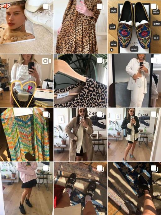 Vintage-Shopping auf Instagram