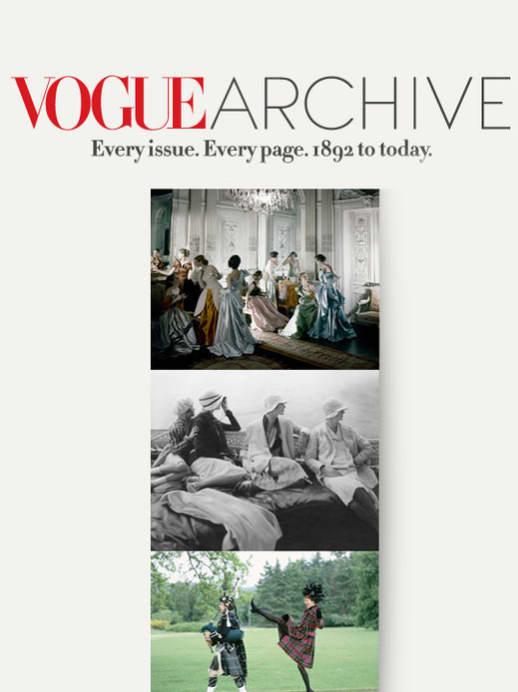 120 Jahre Vogue – Ein Bildband und eines der grössten Online-Archive der Welt