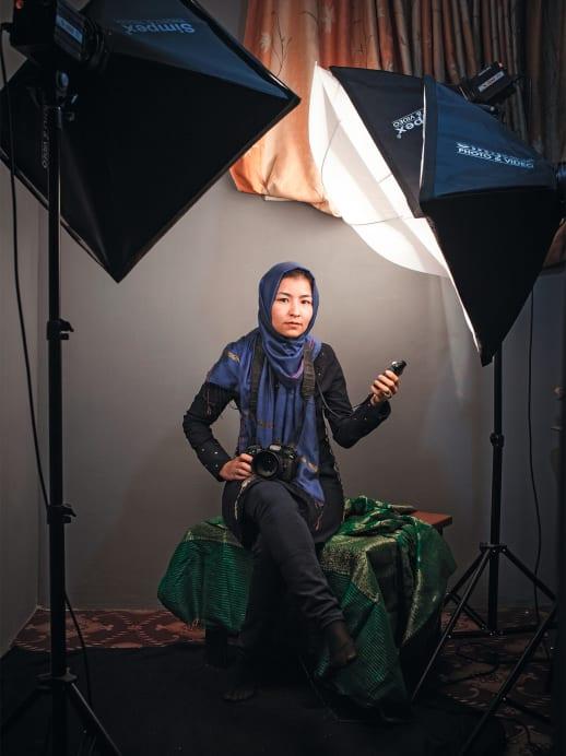 Women at Work: Fotografin Hanifa Alizada