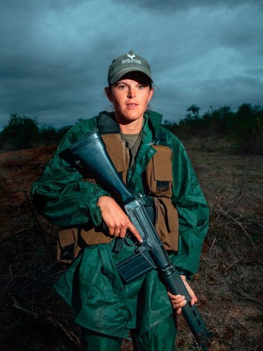 Field Rangerin Melissa du Toit