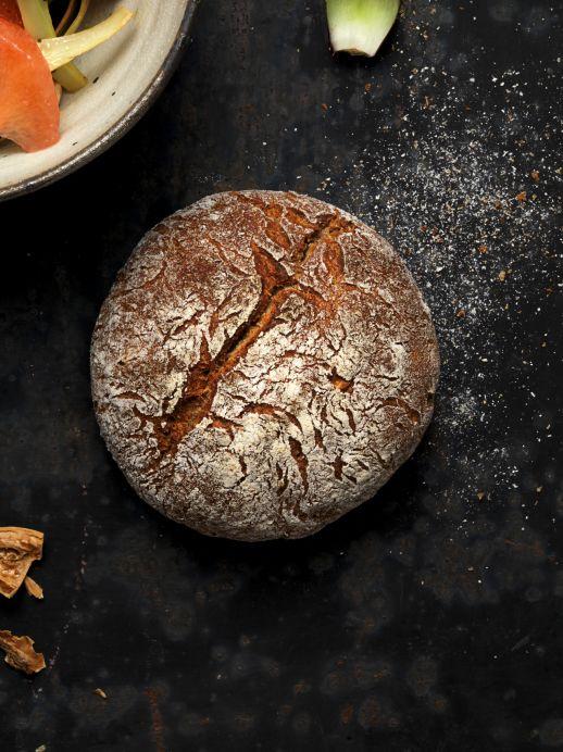 Rezept: Baumnuss-Brot backen