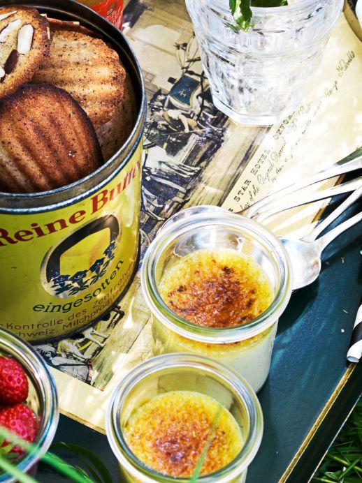 Rezept: Crème brûlée mit Lavendel