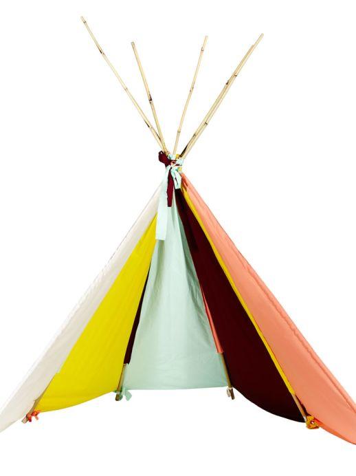 Tipi: Ein Indianer-Zelt zum Selbermachen