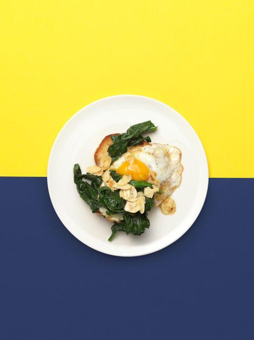 Toast mit Ei