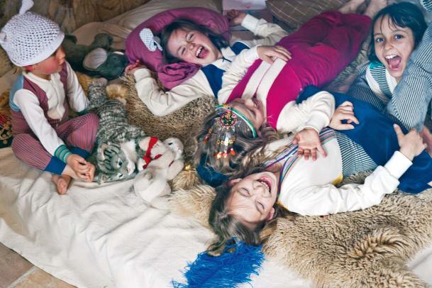 Modischer Tipp der Familianistas – Schlaf schön