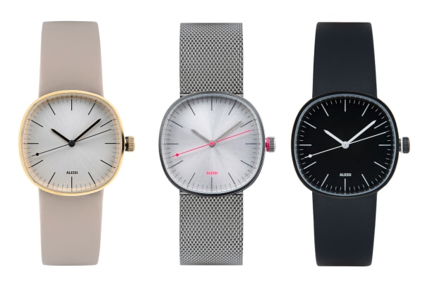 Piero Lissoni designt Uhren für Alessi Watches