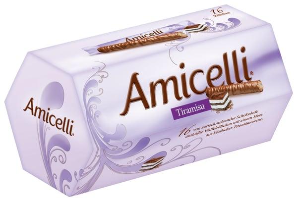 Amicelli mit Tiramisu-Geschmack