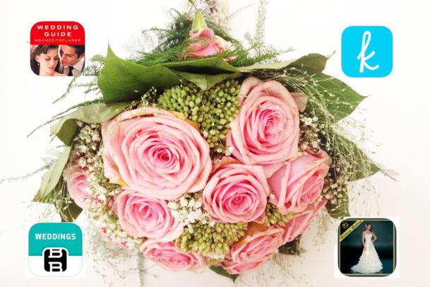 Die besten Apps für eine traumhafte Hochzeit