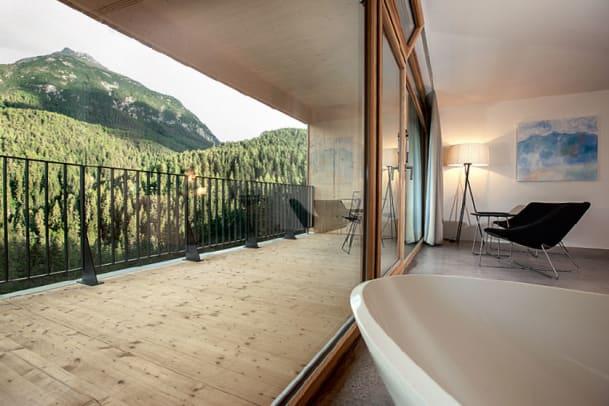 Erholung im Engadin: Hotel Arnica in Scuol