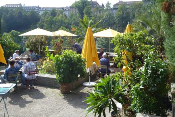 Die schönsten Gartenbars der Schweiz