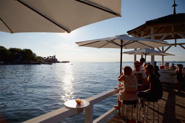 Postkarte aus Bregenz: Die Riviera am Bodensee
