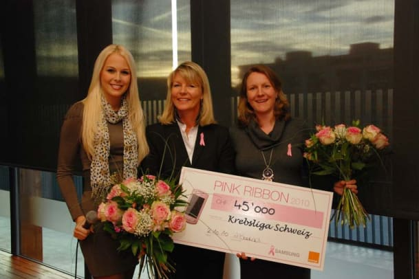 Pink Ribbon Charity Walk war voller Erfolg