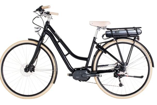 Silvia Binggeli testet das E-Bike Cresta eBoulevard