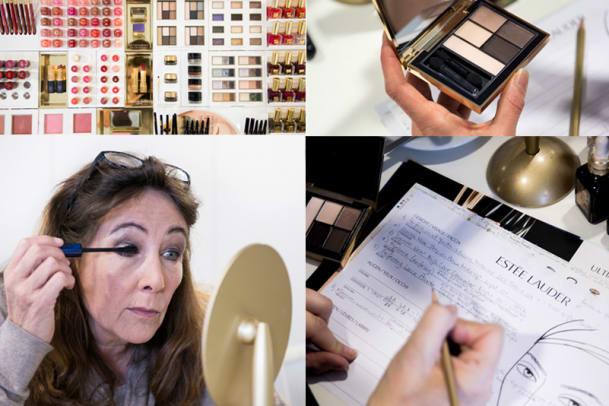 Die Bilder zum Schmink-Workshop mit Estée Lauder