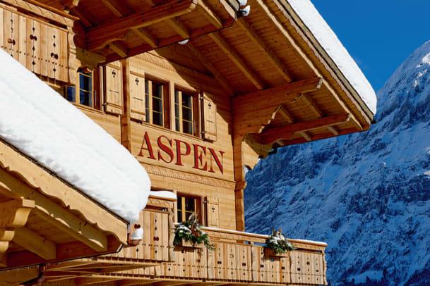 Erholung in den Bergen: Hotel Aspen in Grindelwald BE