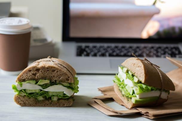 Gesundes Mittagessen trotz Alltagshektik