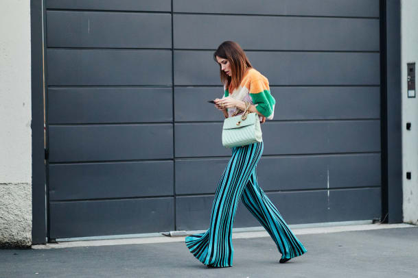 Street Style: Die Hose gibt Stoff