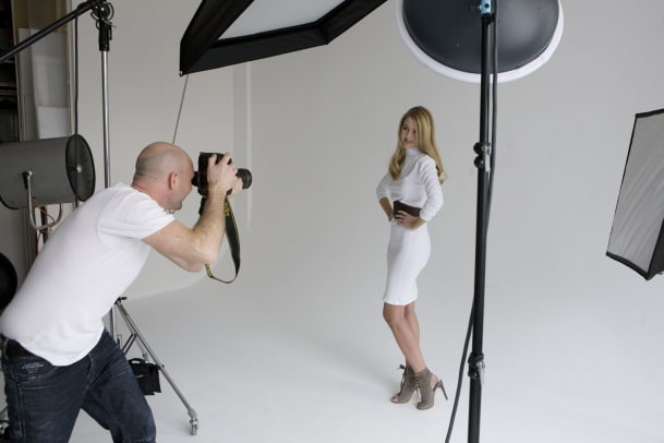 Making-of des Cover-Shootings