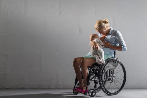 Als Mama im Rollstuhl