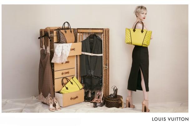 Michelle Williams ist das neue Gesicht der Louis Vuitton Kampagne