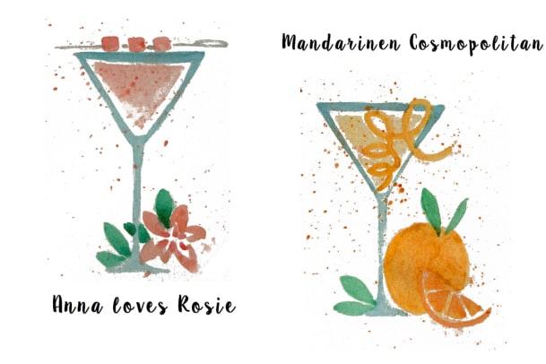 annabelle-Drinks aus der Onyx-Bar