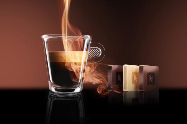 Schokolade von Nespresso