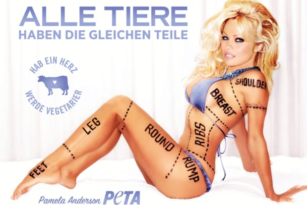 Pamela Anderson für Peta: Sexistisch oder wirksam?