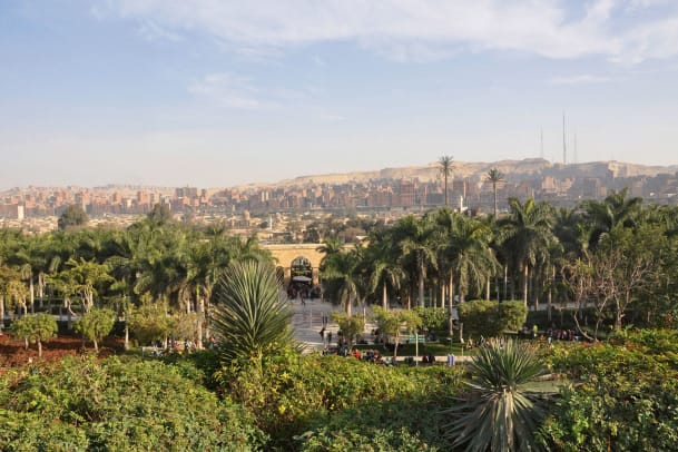 Die grüne Lunge von Kairo