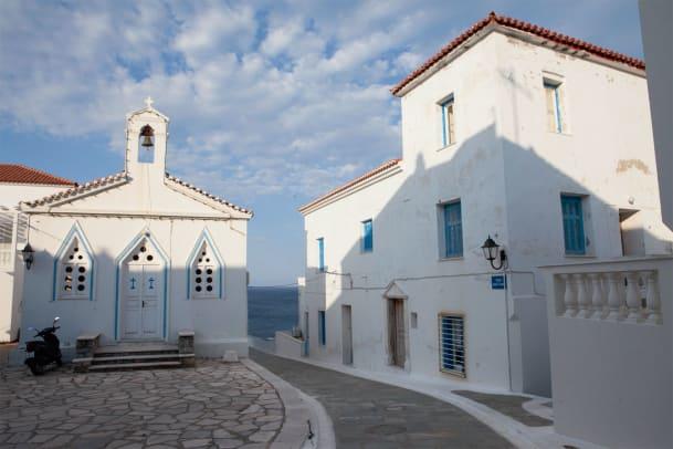 Postkarte von der Insel Andros