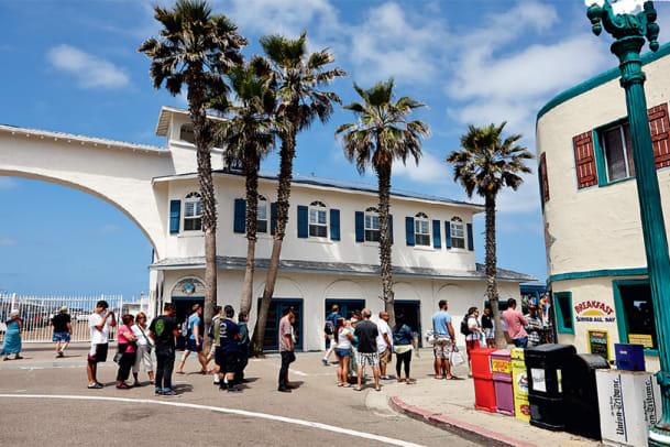 Postkarte aus San Diego: Viel Meer ums Green