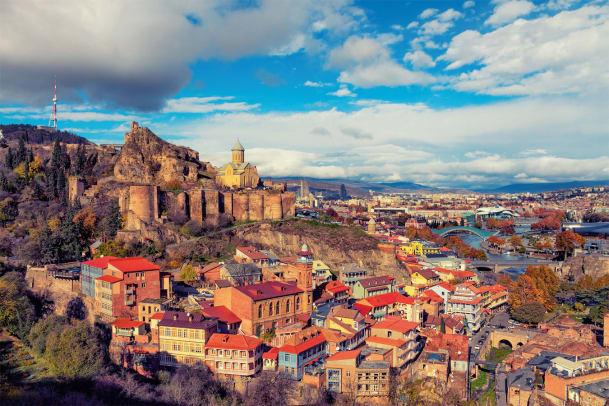 Postkarte aus Tiflis
