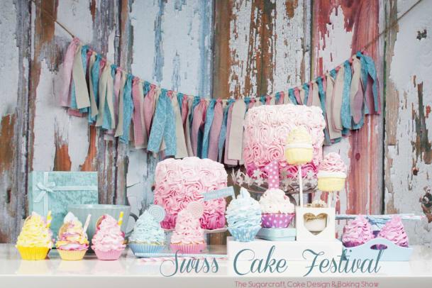 Zuckersüsse Kunstwerke: Das erste Swiss Cake Festival