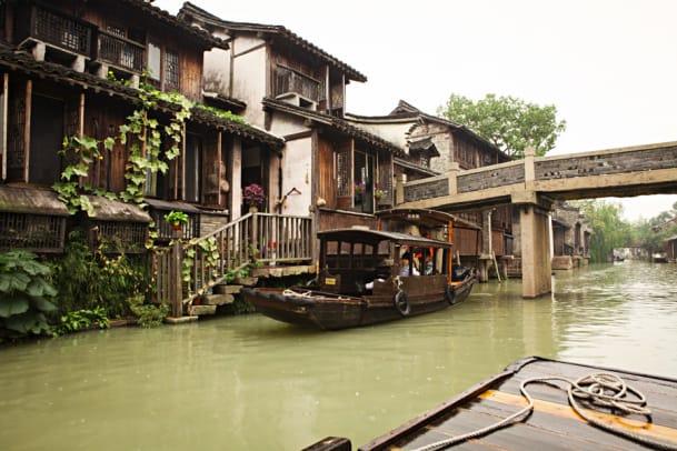 Echt China, voll fremd: Ein Reise-Bericht über die Wasserdörfer um Shanghai