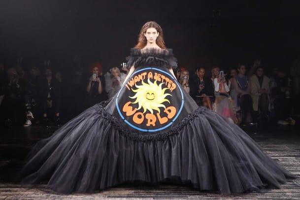 Fünf exzentrische Looks der Haute Couture