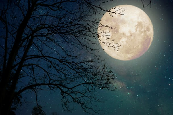 Beeinflusst der Mond unseren Schlaf?