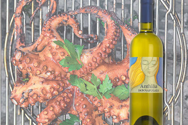 Weisswein Anthilia: Wein-Tipp zu grillierten Meeresfrüchten