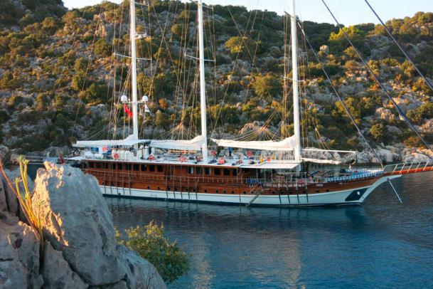 Yoga Cruise: Sportliche Ferien an der südtürkischen Küste