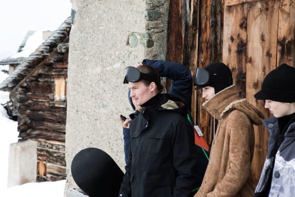 Iouri Podladtchikov ist das neue Gesicht von Akris punto
