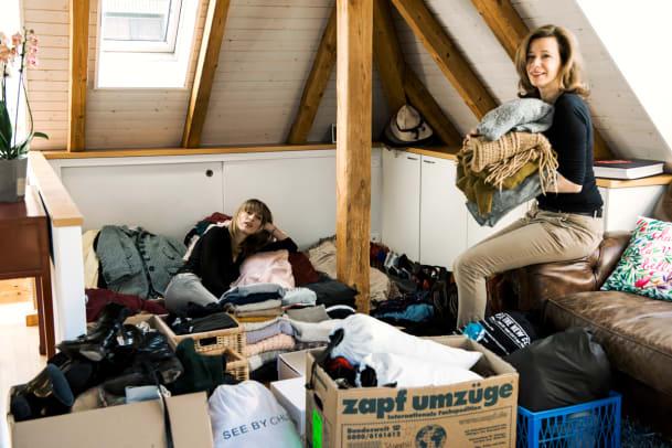 Schrank schlank: Garderobe ausmisten mit System