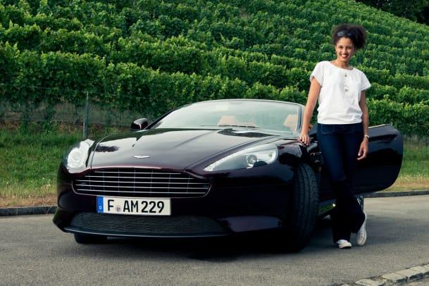 Im 007. Himmel: Der Aston Martin DB9 Volante im Autotest