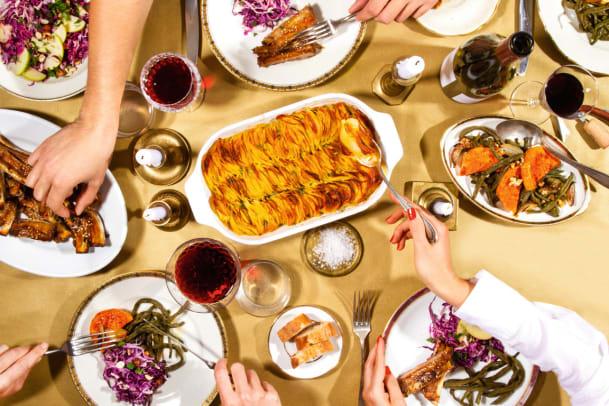 Fünf Gerichte für das Festtagsmenü