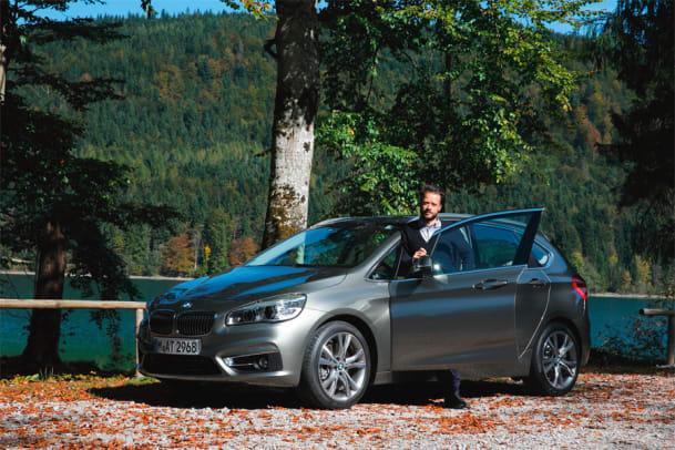 Wie zuhause: Der 2er-BMW 218i im Test