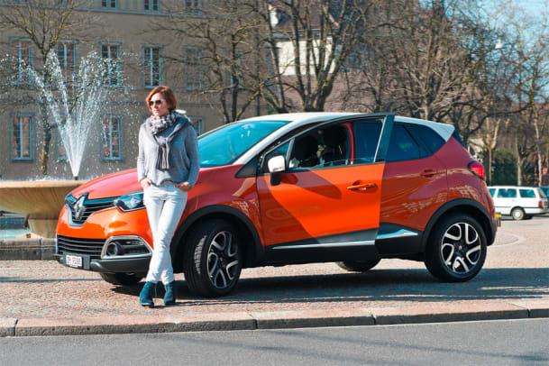 Ein bisschen SUV darf sein: Der Renault Captur im Test